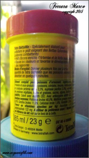 etichetta mangime