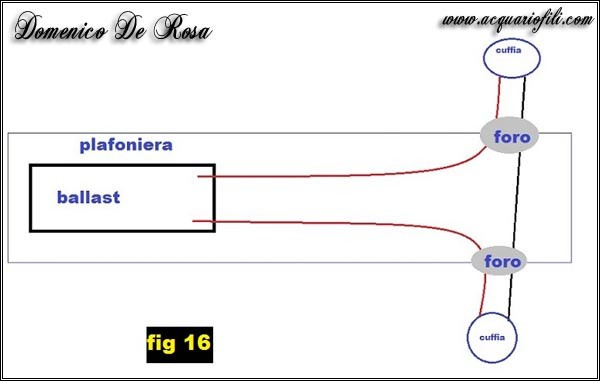 Schema Elettrico Plafoniera Neon : Modifica luci juwel rio pagina di acquariofili